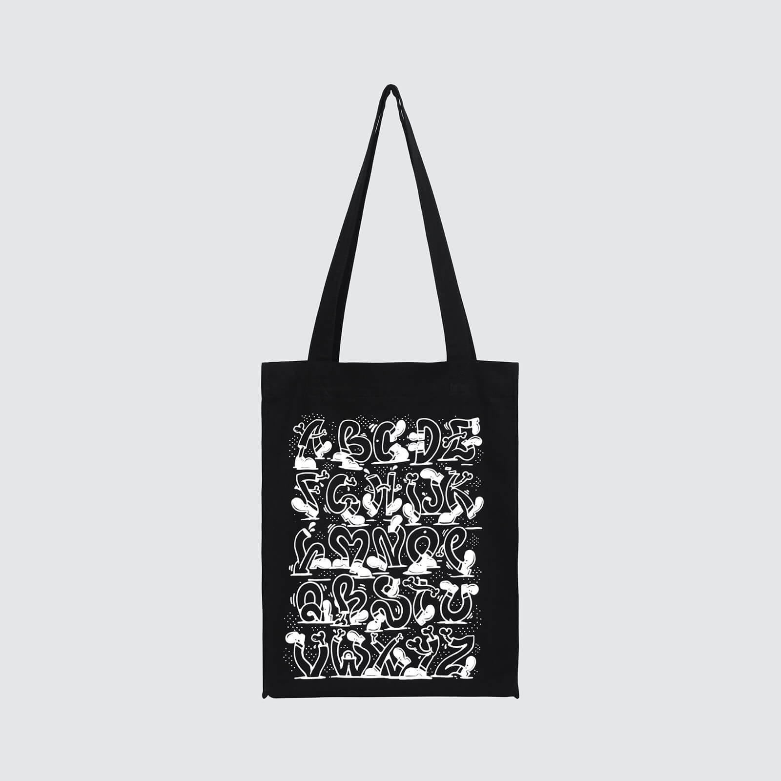 ALPHABET DANCE Tote Bag