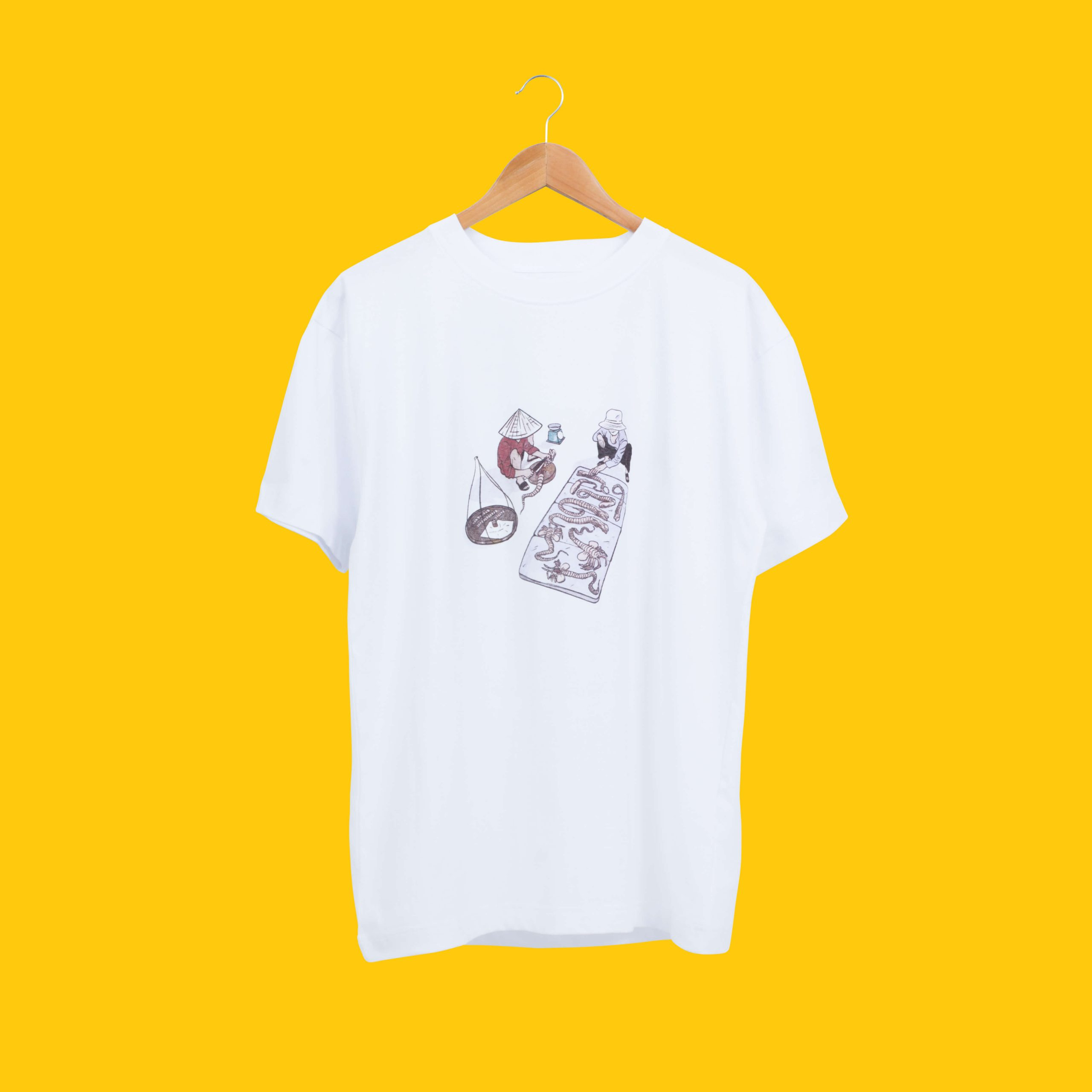ASIAN ALIEN Tee (White)