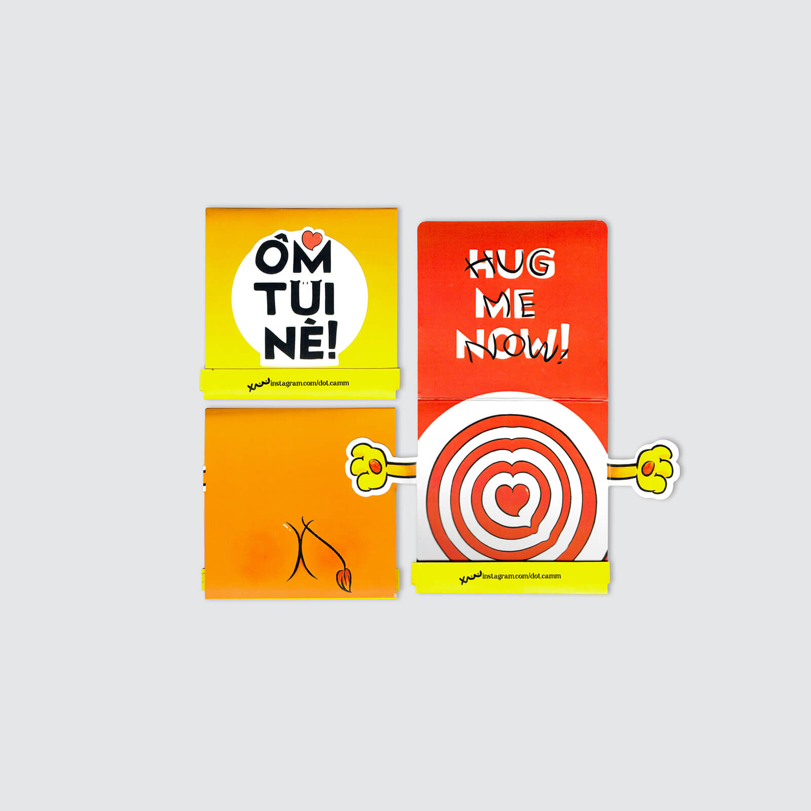 HUG ME NOW! Sticker Pack